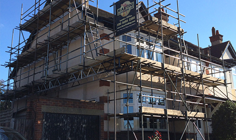 Domestic Scaffolding Hire